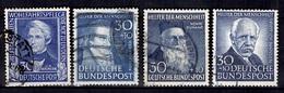 Allemagne/RFA YT N° 6, N° 32, N° 45 Et N° 62 Oblitérés. B/TB. A Saisir! - Used Stamps