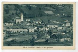 Cartolina Porta Littoria - La Thuile - Capoluogo - Altre Città