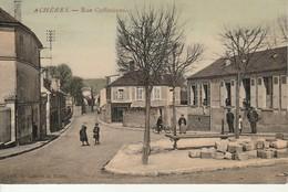 Acheres-Rue Coffinieres. - Acheres