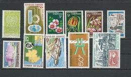 GABON  Voir Détail (11) * Cote 13,50  $ 1962-9 - Gabon (1960-...)