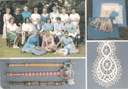 LACEMAKING  MULTI VIEW. LA ZOUCH LACE GUILD - Unclassified