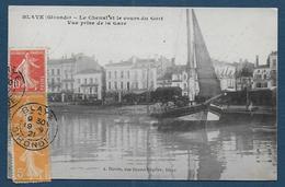 BLAYE - Le Chenal Et Le Cours Du Gort - Vue Prise De La Gare - Blaye
