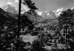 Cartolina Pre S. Didier Panorama E Catena Monte Bianco1961 - Unclassified