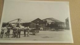 Phography Airplane : Ancienne  Photo D'un Autogyre ( Ancetre De L'helicoptère ) 9 X 14 Cm - Aviation