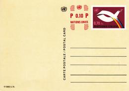 Nations Unies Carte Postale Entier Postal Neuf De 1985 En Très Bon état - Autres - Europe