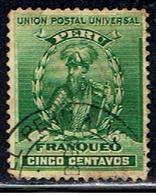 PE 112 //  Y&T 111 // 1896-99 - Peru