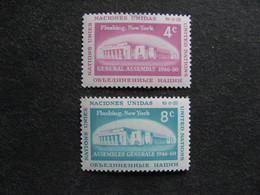 O.N.U. Siège De New-York: TB Paire N° 66 Et N°67, Neufs XX. - Ungebraucht