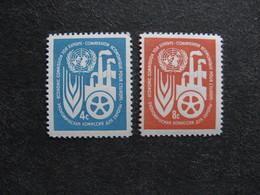 O.N.U. Siège De New-York: TB Paire N° 68 Et N°69, Neufs XX. - Ungebraucht