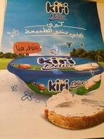 AFFICHE  AUTOCOLLANTE PUBLICITÉ   FROMAGE KIRI - Posters