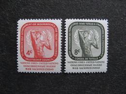 O.N.U. Siège De New-York: TB Paire N° 70 Et N°71, Neufs XX. - Ungebraucht