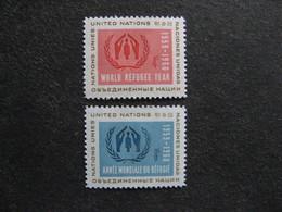 O.N.U. Siège De New-York: TB Paire N° 72 Et N°73, Neufs XX. - New York -  VN Hauptquartier