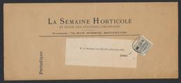 "N°53 Sur Grande Bande Imprimée ""La Semaine Horticole"" + Cachet Journal  ""Bruxelles 15/12/X Journaux"" Vers Ciney. TB - 1893-1800 Fijne Baard"