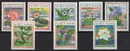 Vietnam (1980) Yv. 213/20  /  Blumen - Flowers - Fleurs - Flores - Fiori - Orchideeën
