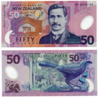 RESERVE BANK OF NEW ZEALAND // Fifty Dollars // UNC - Nouvelle-Zélande