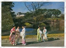 Ni Jyubashi - Double Bridge - Japan Giappone  - Storia Postale - Giappone