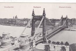 BUDAPEST. ELISABETH BRUCKE, ERZEBET HID. NM BP, CIRCA 1900s- BLEUP - Hongarije