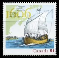 Canada (Scott No.2155 - Champlain) [**] - 1952-.... Règne D'Elizabeth II