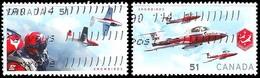 Canada (Scott No.2158-59 - Snowbirds) (o) Paire - 1952-.... Règne D'Elizabeth II