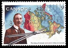 Canada (Scott No.2160 - Atlas Du Canada) (o) - 1952-.... Règne D'Elizabeth II