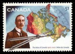 Canada (Scott No.2160 - Atlas Du Canada) [**] - 1952-.... Règne D'Elizabeth II