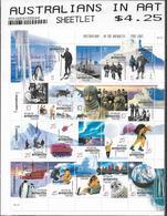 2001 Australien In Antarktis Mi. 122-144 **MNH 100. Jahrestag Der Ersten Antarktis-Überwinterung - Territorio Antártico Australiano (AAT)