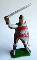 Figurine CLAIRET MOYEN AGE Cl.ma II 911 ARMURE EPEE HAU Pas Starlux Cyrnos, Restauré - Starlux