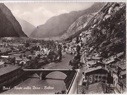 Aosta Bard Ponte Sulla Dora Ferrovia Stazione Fg - Italie