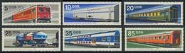 DDR Germany 1973 Mi 1844 /9 YT 1539 /4 SG 1576 /1 ** Railway Rolling Stock / Vereinigter Schienenfahrzeugbau - Treinen