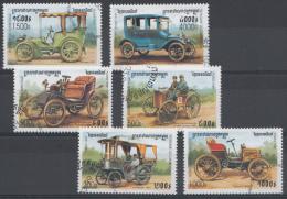 CAMBODJA  MI.NR.1913-1918 ALTE AUTOMOBILE  USED / GEBRUIKT / OBLITERE 1999 - Cambodja