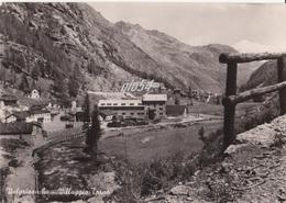 Aosta Valgrisanche Villaggio Torno Costruzione Diga Fg - Italy