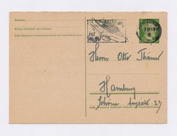 DR GS P 298 I Mit MWSt - HAMBURG, Nahrung Ist Waffe 1943 - Deutschland