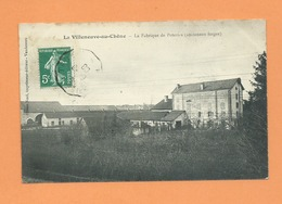 CPA -  La Villeneuve Au Chêne -  La Fabrique De Poteries  -(Anciennes Forges) - Frankreich