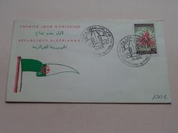 Anniversaire Du 1 Nov. 1954 - Premier Jour D'Emission / République Algérienne ( Zie/voir Foto Voor/pour Détails ) ! - Algérie (1962-...)