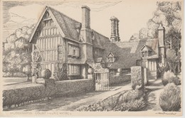 (ANG672)  WORC. HUNDDINGTON COURT - Worcestershire