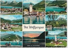 Der Wolfgangsee, Austria, Used Postcard [21996] - Austria