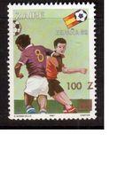 Zaire-1990,(Mi.989),Football, Soccer, Fussball,calcio,MNH - 1982 – Espagne