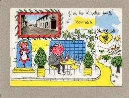 CPA - Environs De REFFANNES (79) VAUTEBIS - Carte D'illustrateur Avec Petite Image Encartée - Années 60 - J'ai Bu - France