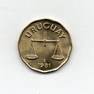 Uruguay - 1981 - 50 Centesimos - Vedi Foto - (MW1734) - Uruguay