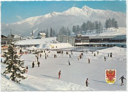 Seefeld, Tirol, Eislaufplatz, Austria, 1981 Used Postcard [22000] - Austria