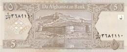AFGHANISTAN 5 AFGHANIS -UNC - Afghanistan