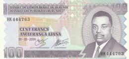 BURUNDI 100 FRANCS -UNC - Burundi