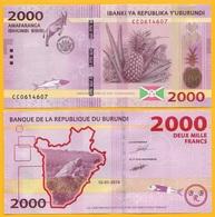 Burundi 2000 Francs P-52 2015 UNC - Burundi