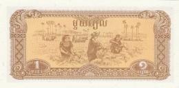 CAMBOGIA 1 RIEL -UNC - Cambogia