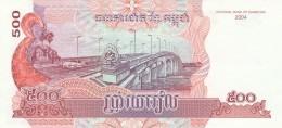 CAMBOGIA 500 RIELS (2) -UNC - Cambodia