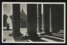 *Colonnato Di Piazza S. Pietro* Ed. Brunner & C. Nº 461. Nueva. - Vaticano (Ciudad Del)