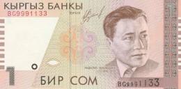 KIRGHIZISTAN 1 SOM -UNC - Kirghizistan