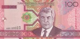 TURKMENISTAN 100 MANAT -UNC - Turkmenistan