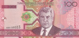 TURKMENISTAN 100 MANAT -UNC - Turkménistan