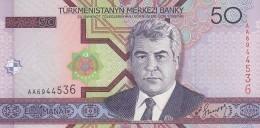 TURKMENISTAN 50 MANAT -UNC - Turkmenistan
