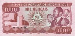 MOZAMBICO 1000 METICAIS -UNC - Mozambico